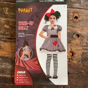 Wind up doll costume